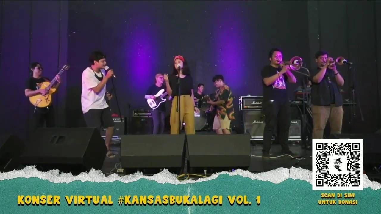 Konser Virtual Kansas Buka Lagi: Wujud Solidaritas Sekaligus Apresiasi Diri