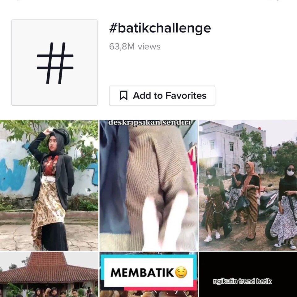 Popularitas Batik Challenge, Kamu Ikutan Juga?