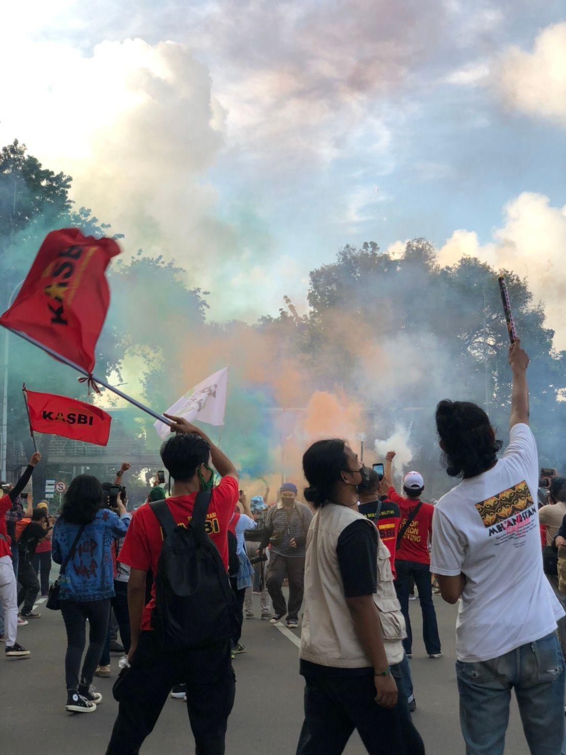 May Day 2021: Represifitas Aparat dalam Memisahkan Massa
