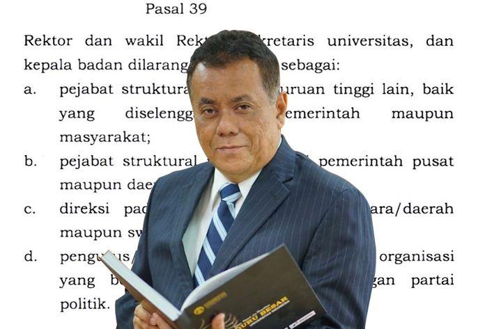 Geliat Rektor UI: Ubah Statuta Amankan Jabatan