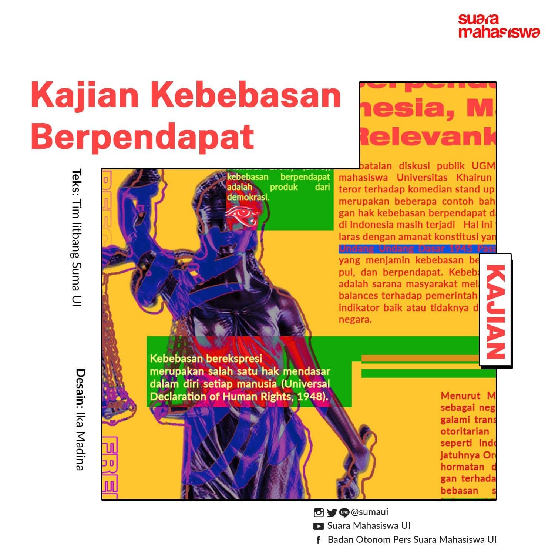 Kebebasan Berpendapat di Indonesia, Masih Relevankah?