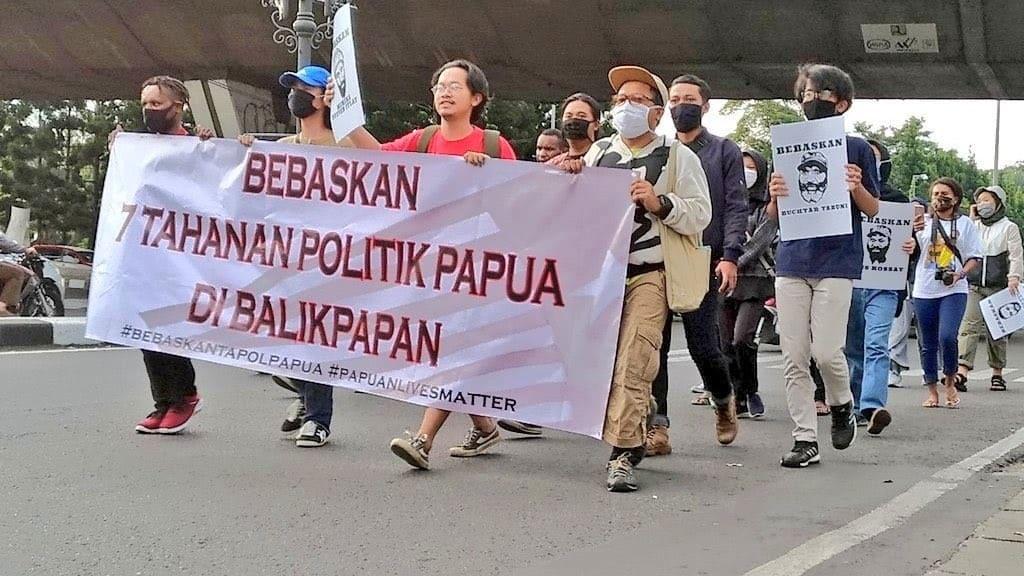 Ragam Solidaritas Mahasiswa UI terhadap Tujuh Tapol Papua