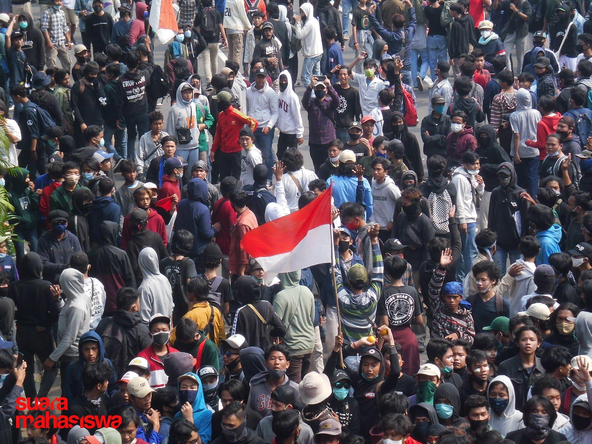 Tolak Omnibus Law, Berbagai Elemen Masyarakat Gelar Aksi Protes
